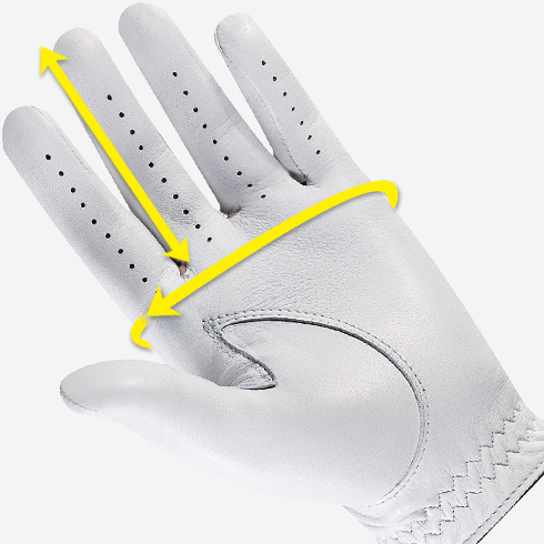 Are You Wearing The Right Size Glove Australian Golf Digest